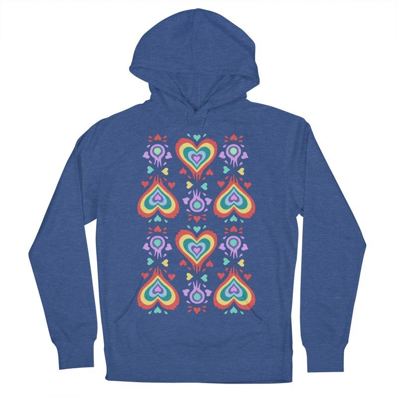 Heart of Hearts Men's Pullover Hoody by Kira Seiler