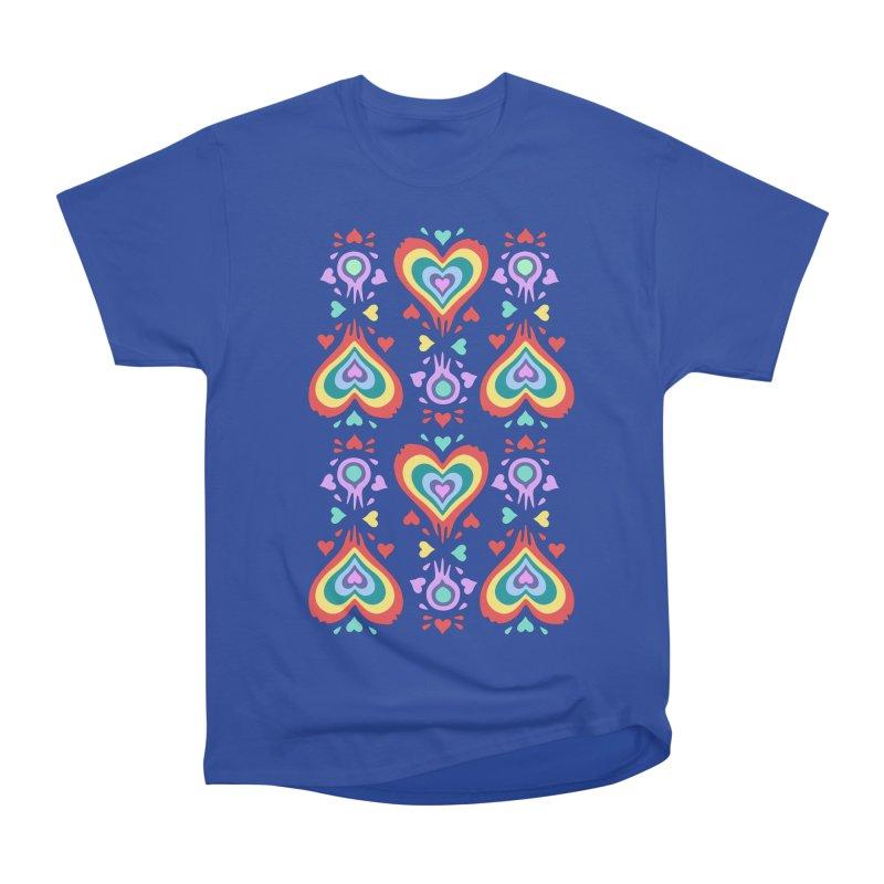 Heart of Hearts Women's Heavyweight Unisex T-Shirt by Kira Seiler