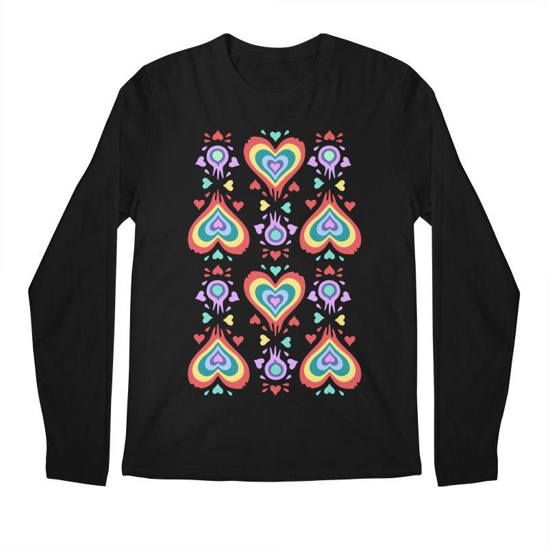 Heart of Hearts Men's Longsleeve T-Shirt by Kira Seiler