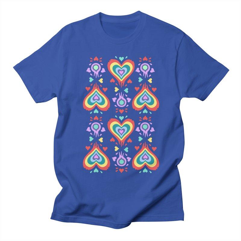 Heart of Hearts Men's Regular T-Shirt by Kira Seiler