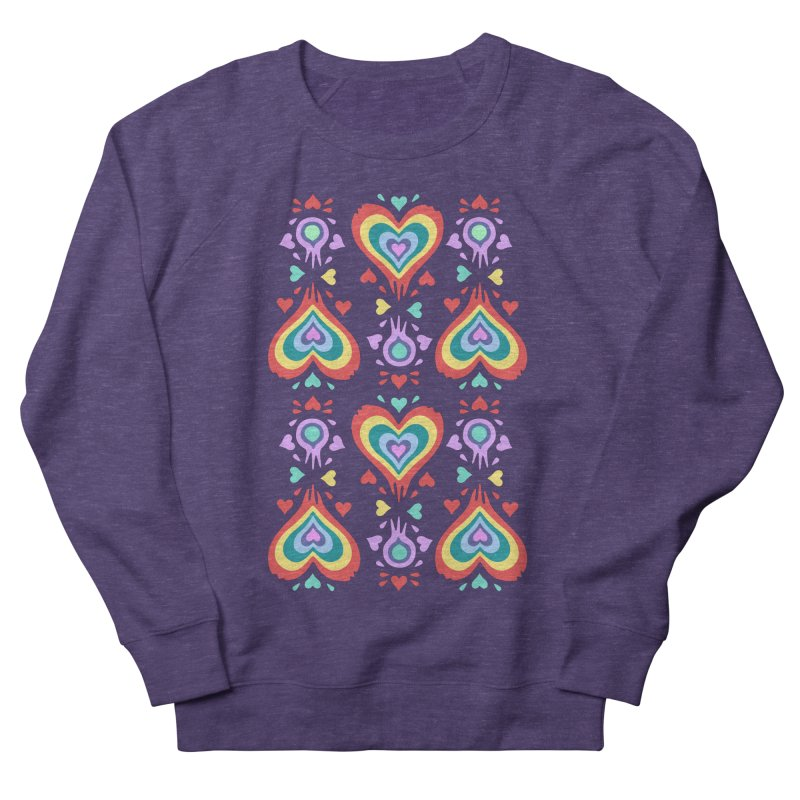 Heart of Hearts Women's French Terry Sweatshirt by Kira Seiler