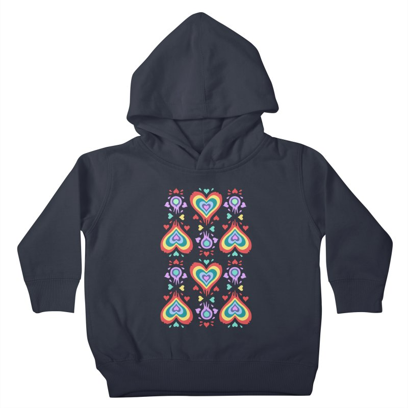 Heart of Hearts Kids Toddler Pullover Hoody by Kira Seiler