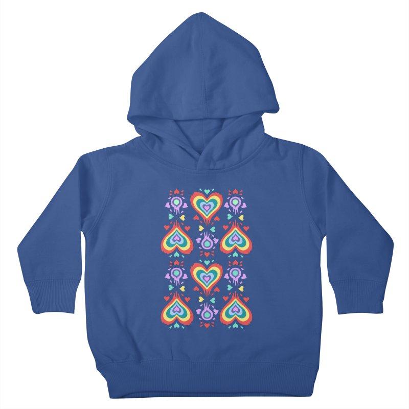 Heart of Hearts Kids Toddler Pullover Hoody by Kira Seiler