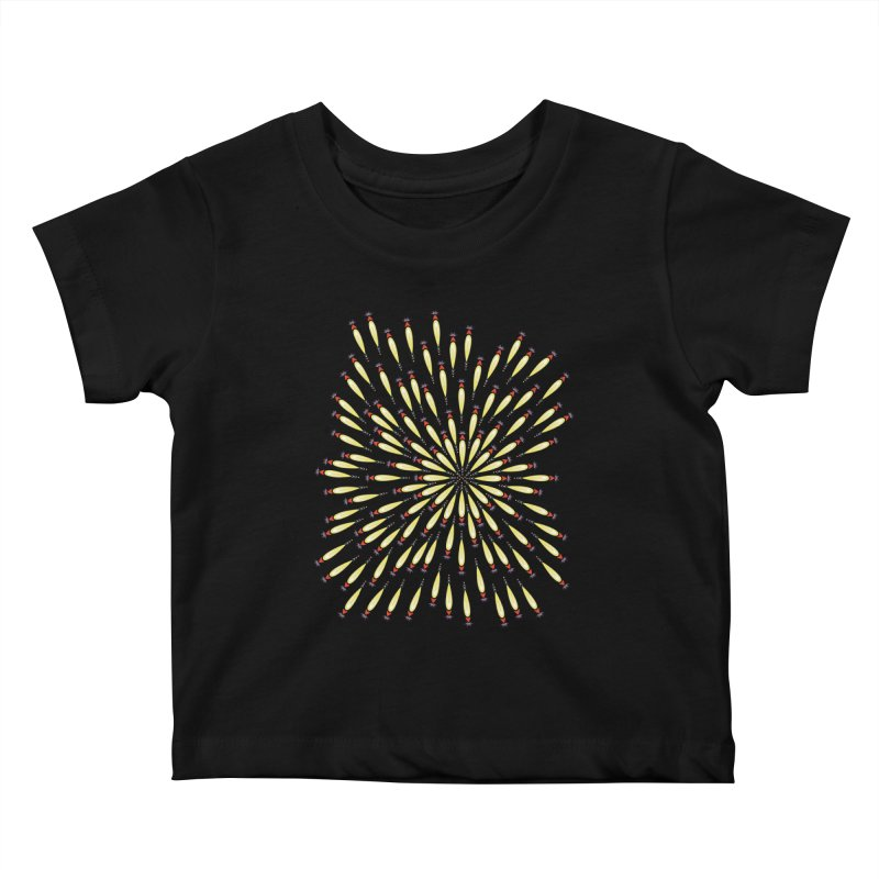 Flower Burst Kids Baby T-Shirt by Kira Seiler