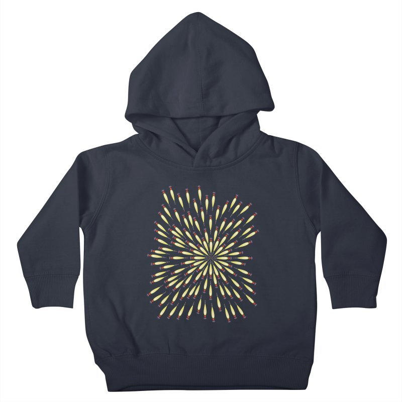 Flower Burst Kids Toddler Pullover Hoody by Kira Seiler