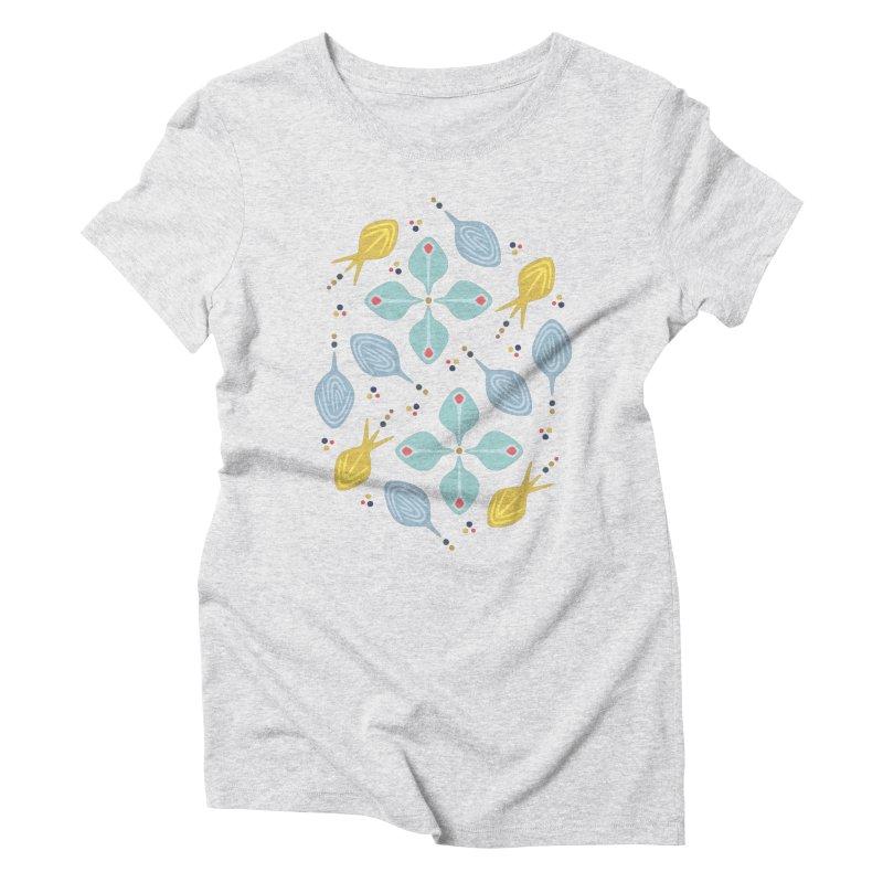 Water Leaf Women's Triblend T-Shirt by Kira Seiler
