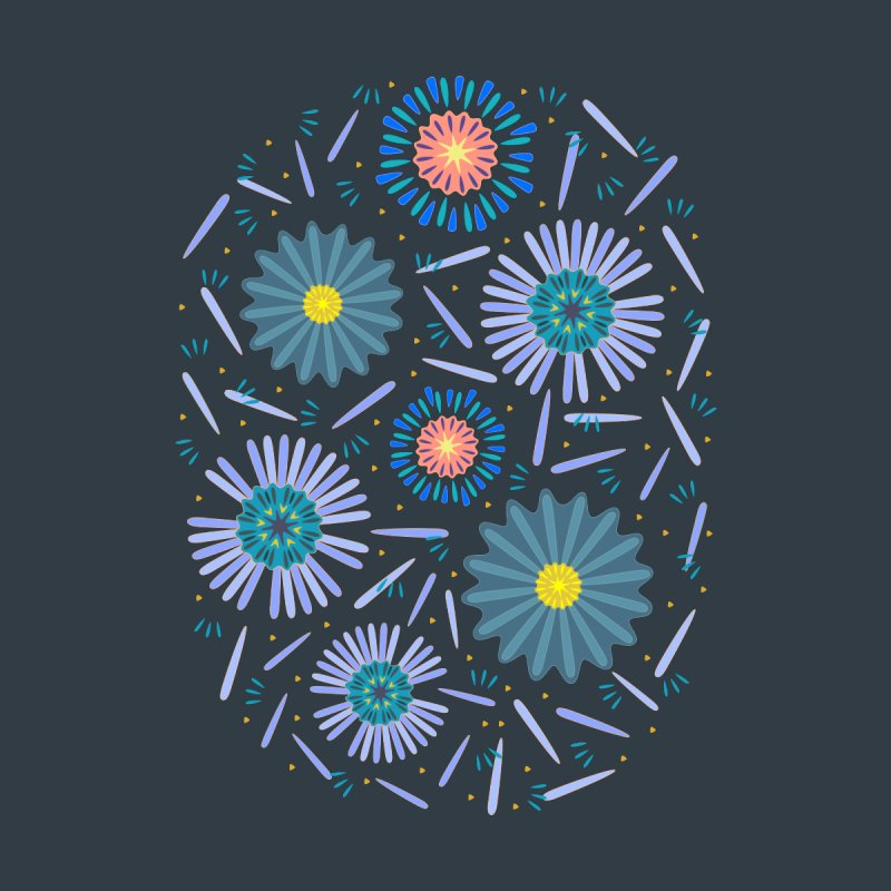 Blue Daisy Women's T-Shirt by Kira Seiler