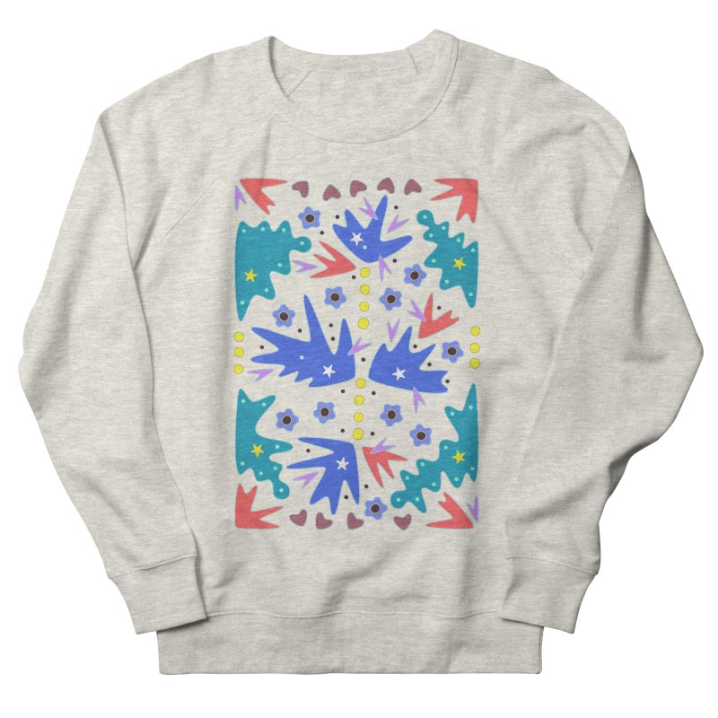 Before Spring Women's French Terry Sweatshirt by Kira Seiler