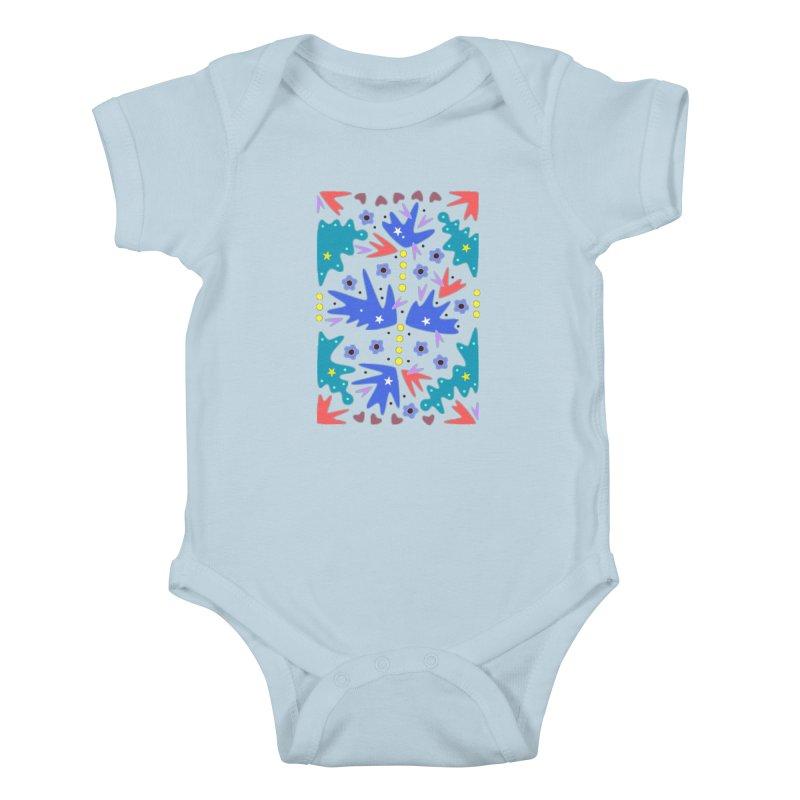 Before Spring Kids Baby Bodysuit by Kira Seiler