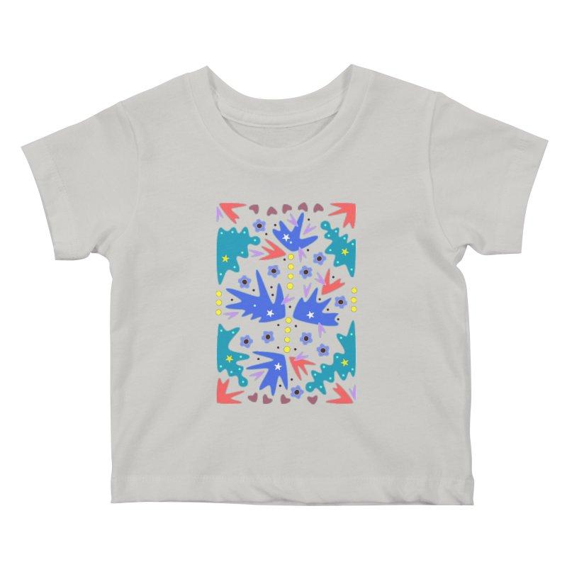 Before Spring Kids Baby T-Shirt by Kira Seiler
