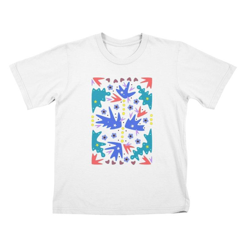 Before Spring Kids T-Shirt by Kira Seiler