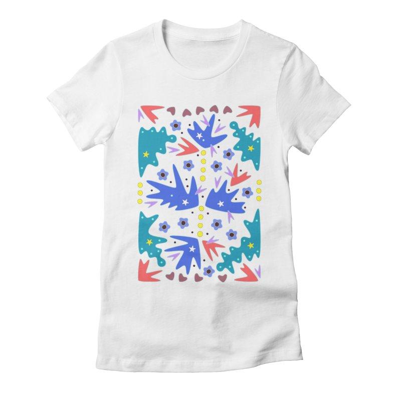 Before Spring Women's Fitted T-Shirt by Kira Seiler