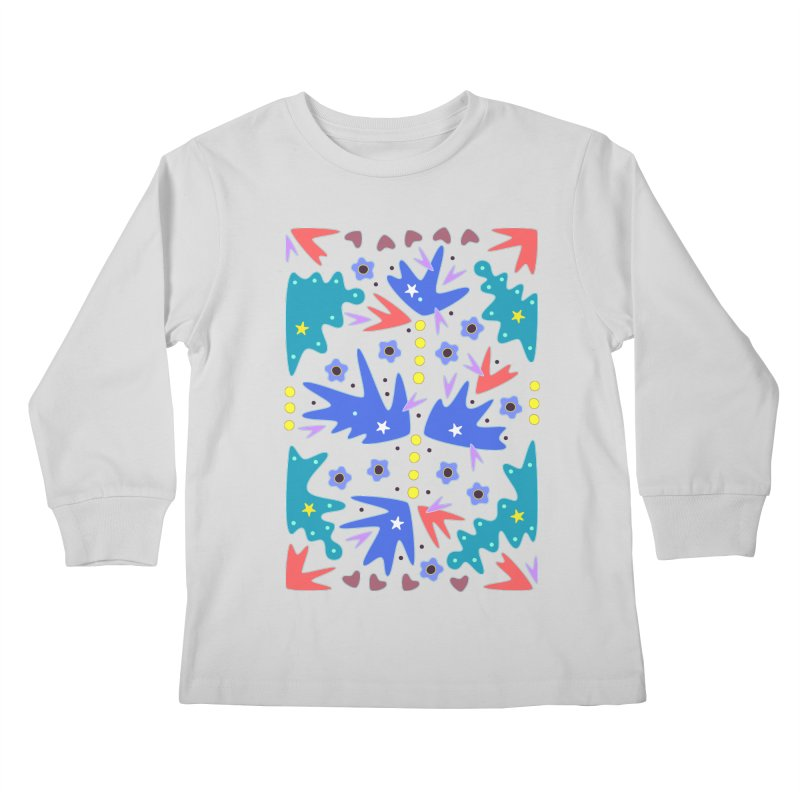 Before Spring Kids Longsleeve T-Shirt by Kira Seiler