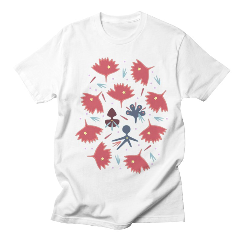Red Leaves Women's T-Shirt by Kira Seiler