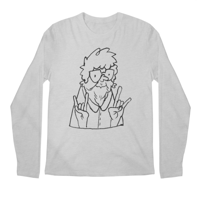 Kirby Krackle - Grandma Logo Men's Longsleeve T-Shirt by Kirby Krackle's Artist Shop