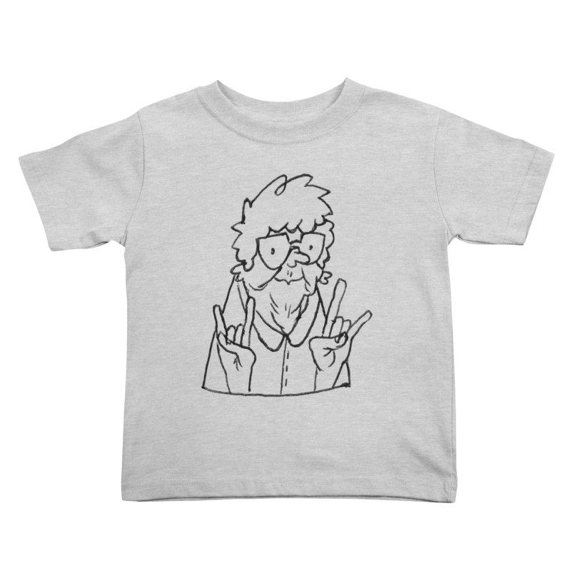 Kirby Krackle - Grandma Logo Kids Toddler T-Shirt by Kirby Krackle's Artist Shop