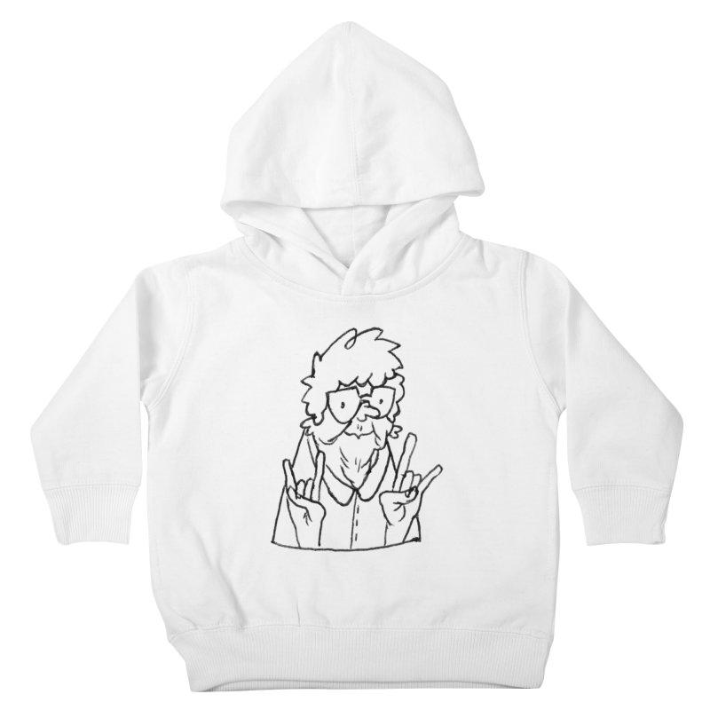 Kirby Krackle - Grandma Logo Kids Toddler Pullover Hoody by Kirby Krackle's Artist Shop