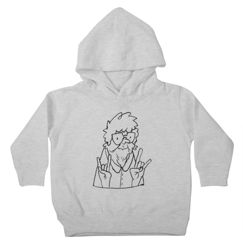 Kirby Krackle - Grandma Logo Kids Toddler Pullover Hoody by Kirby Krackle's Artist Shop