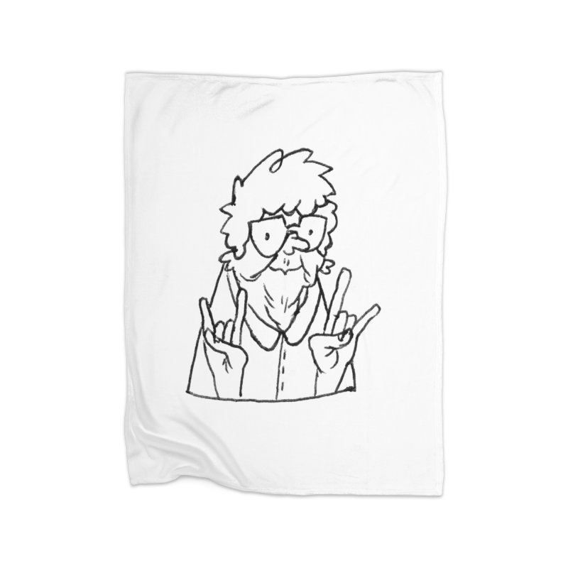Kirby Krackle - Grandma Logo Home Blanket by Kirby Krackle's Artist Shop