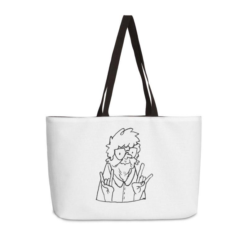 Kirby Krackle - Grandma Logo Accessories Weekender Bag Bag by Kirby Krackle's Artist Shop