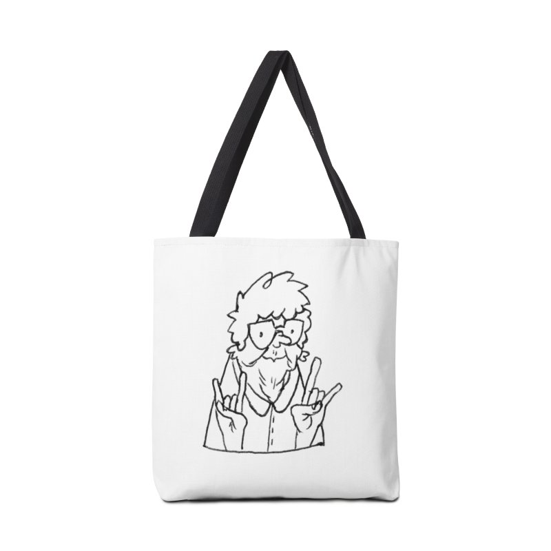 Kirby Krackle - Grandma Logo Accessories Bag by Kirby Krackle's Artist Shop