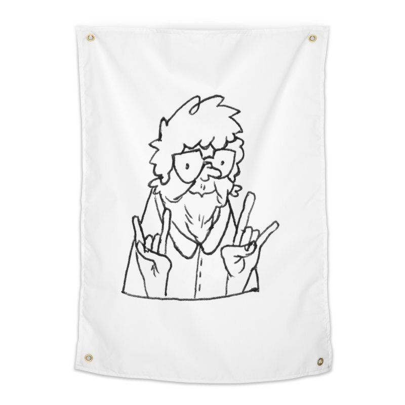 Kirby Krackle - Grandma Logo Home Tapestry by Kirby Krackle's Artist Shop