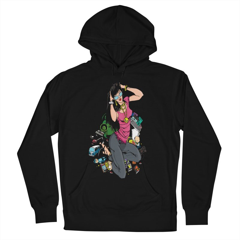 Kirby Krackle - Gamer Girl Logo Women's Pullover Hoody by Kirby Krackle's Artist Shop