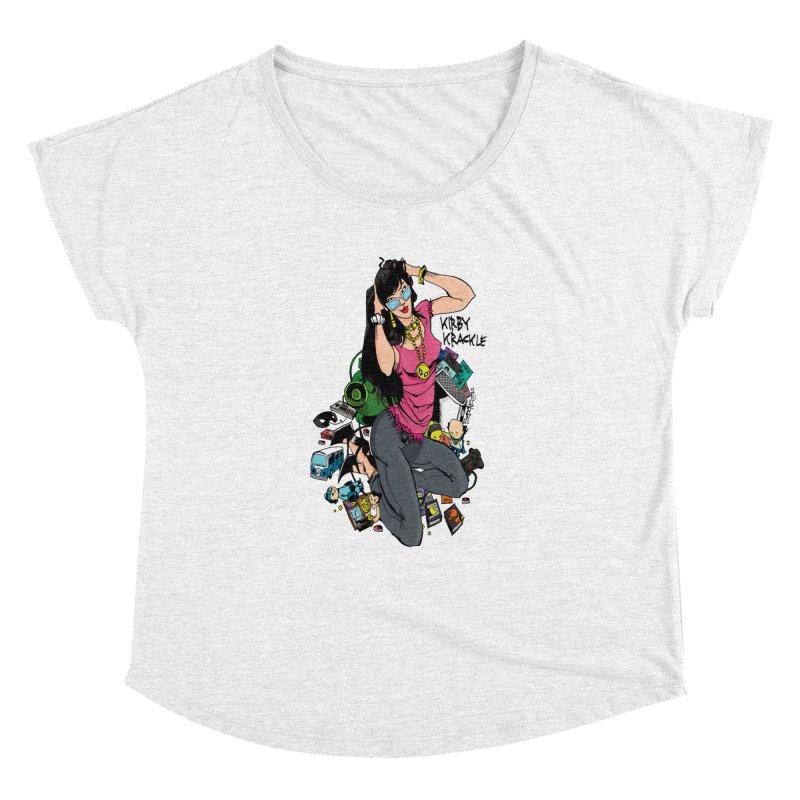Kirby Krackle - Gamer Girl Logo Women's Dolman by Kirby Krackle's Artist Shop
