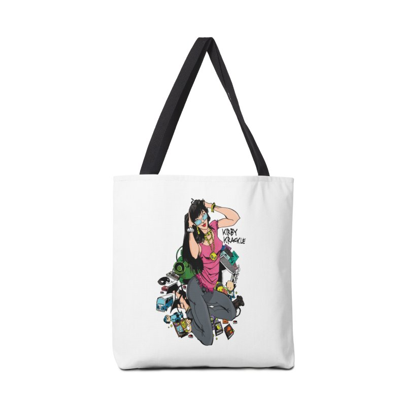 Kirby Krackle - Gamer Girl Logo Accessories Bag by Kirby Krackle's Artist Shop