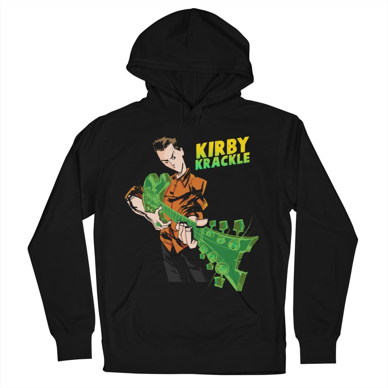 Kirby Krackle - Ring Capacity Logo Women's French Terry Pullover Hoody by Kirby Krackle's Artist Shop