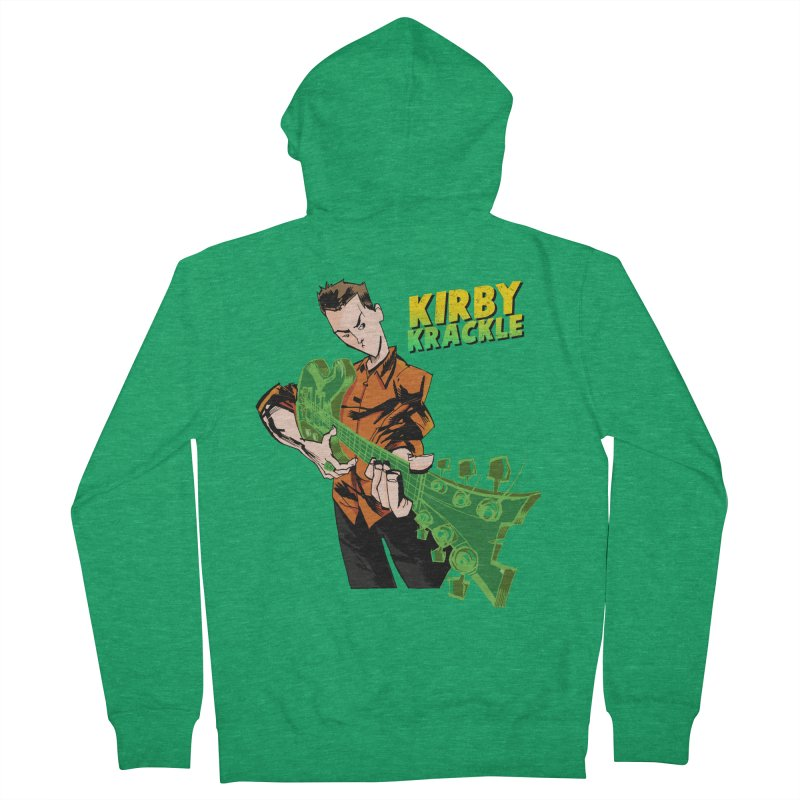 Kirby Krackle - Ring Capacity Logo Men's Zip-Up Hoody by Kirby Krackle's Artist Shop