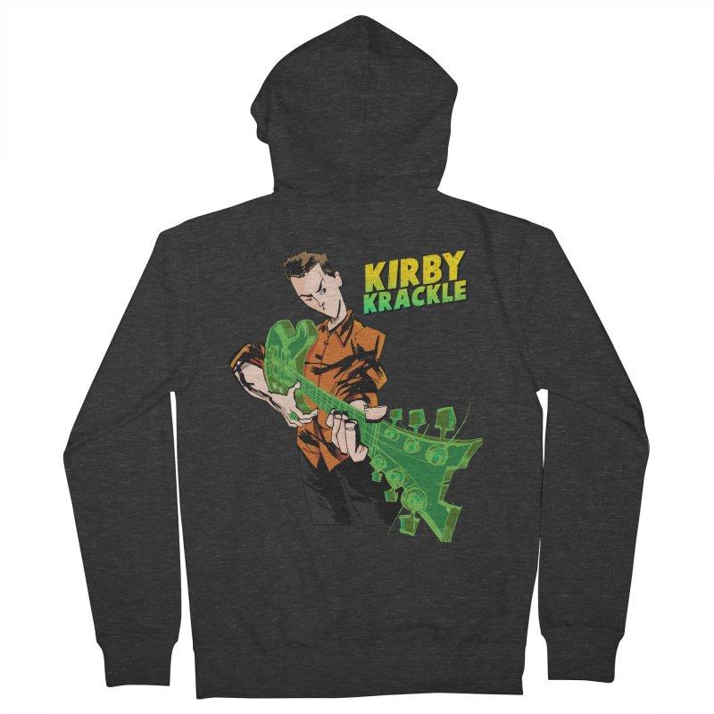 Kirby Krackle - Ring Capacity Logo Men's Zip-Up Hoody by Kirby Krackle's Artist Shop