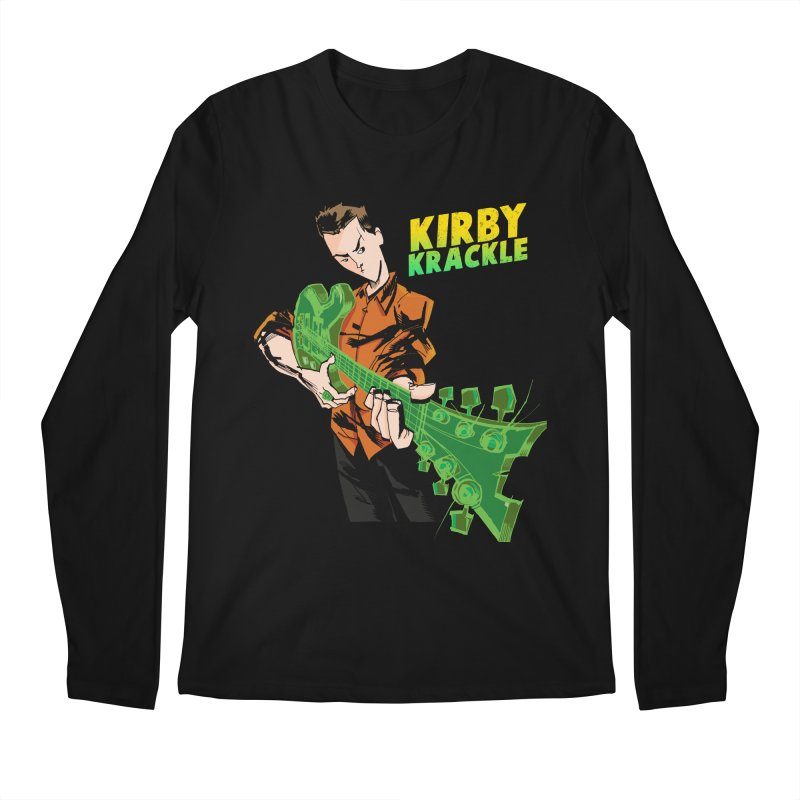 Kirby Krackle - Ring Capacity Logo Men's Longsleeve T-Shirt by Kirby Krackle's Artist Shop
