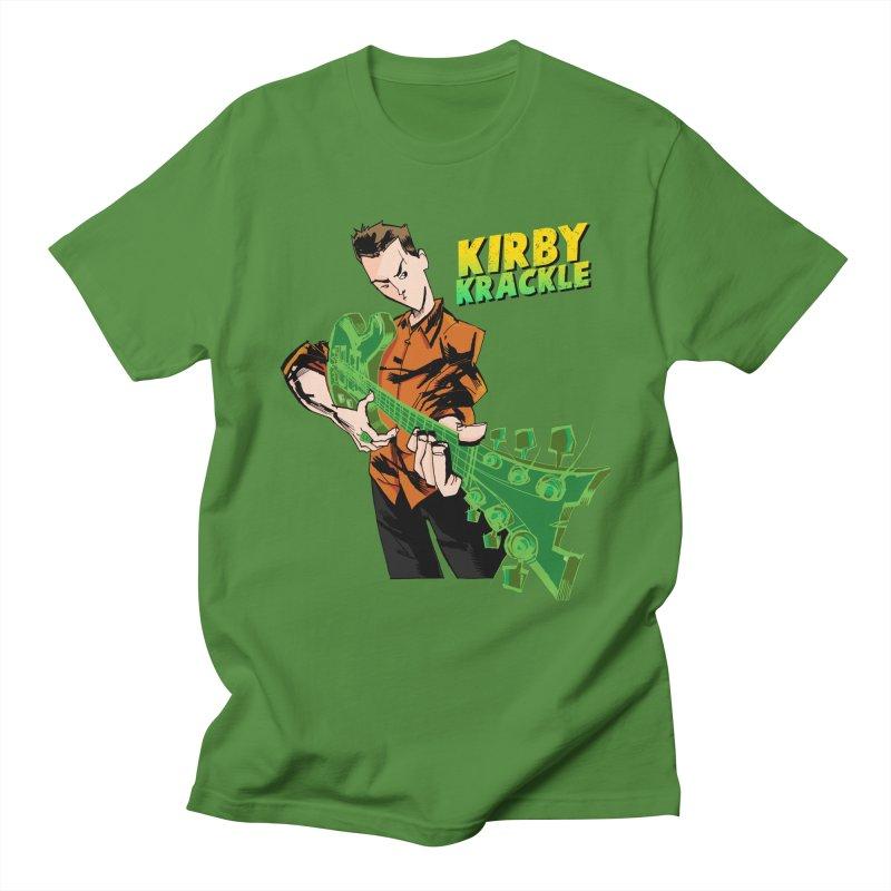 Kirby Krackle - Ring Capacity Logo Men's T-shirt by Kirby Krackle's Artist Shop