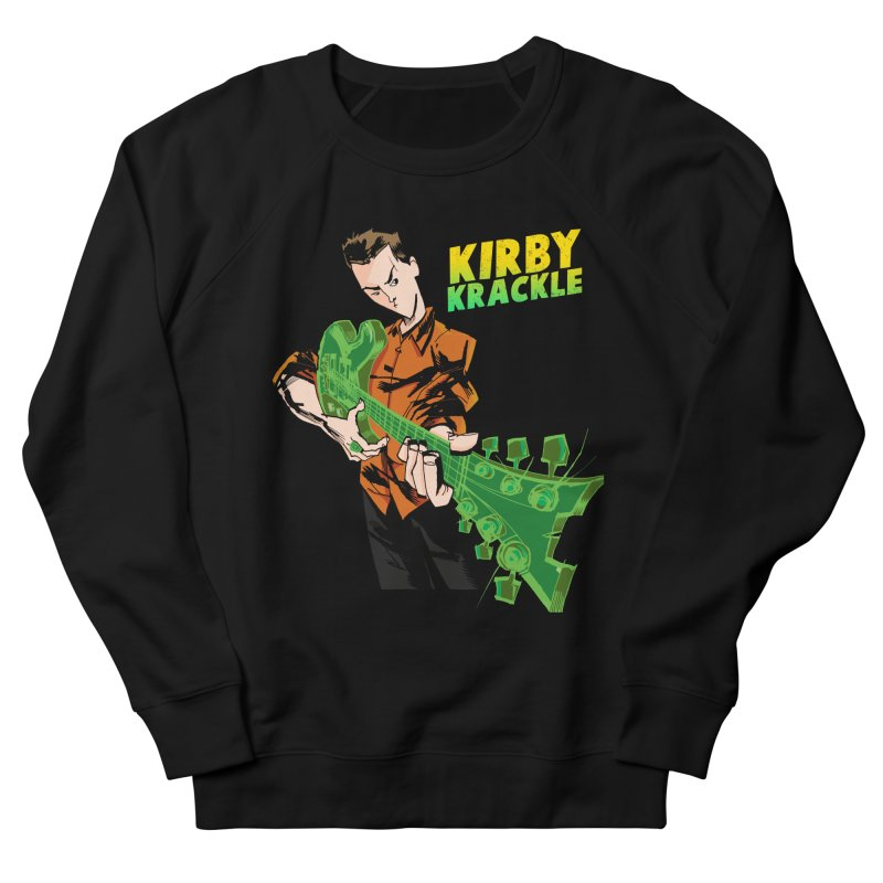 Kirby Krackle - Ring Capacity Logo Men's French Terry Sweatshirt by Kirby Krackle's Artist Shop
