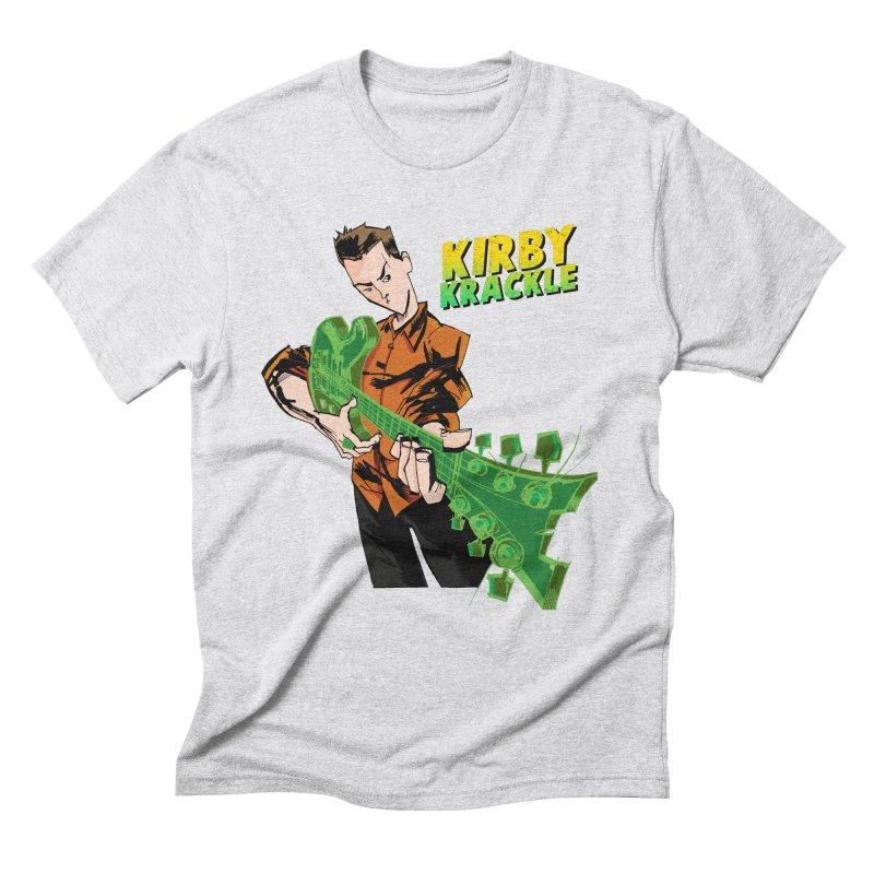 Kirby Krackle - Ring Capacity Logo Men's Triblend T-Shirt by Kirby Krackle's Artist Shop