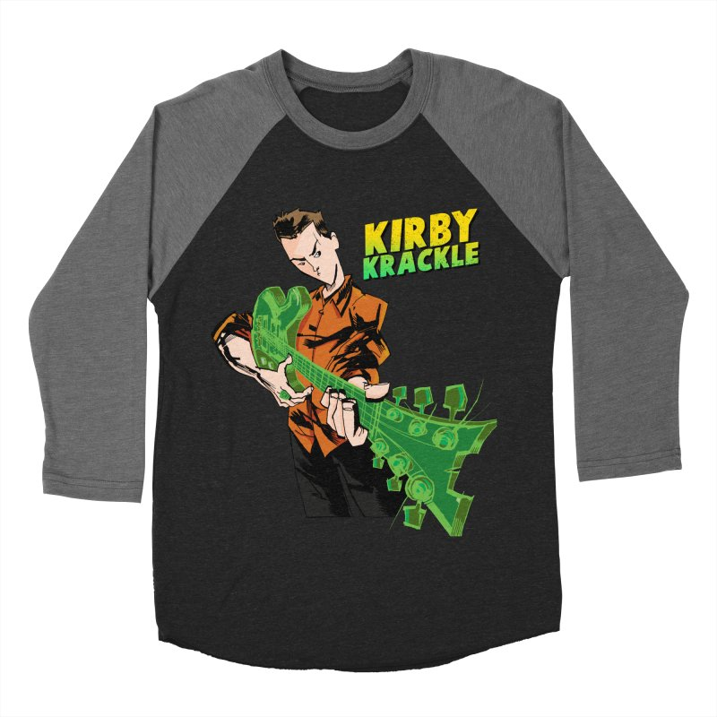Kirby Krackle - Ring Capacity Logo Men's Baseball Triblend T-Shirt by Kirby Krackle's Artist Shop