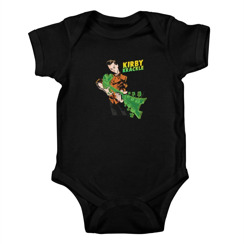 Kirby Krackle - Ring Capacity Logo Kids Baby Bodysuit by Kirby Krackle's Artist Shop