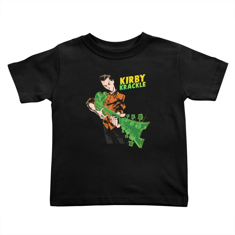 Kirby Krackle - Ring Capacity Logo Kids Toddler T-Shirt by Kirby Krackle's Artist Shop