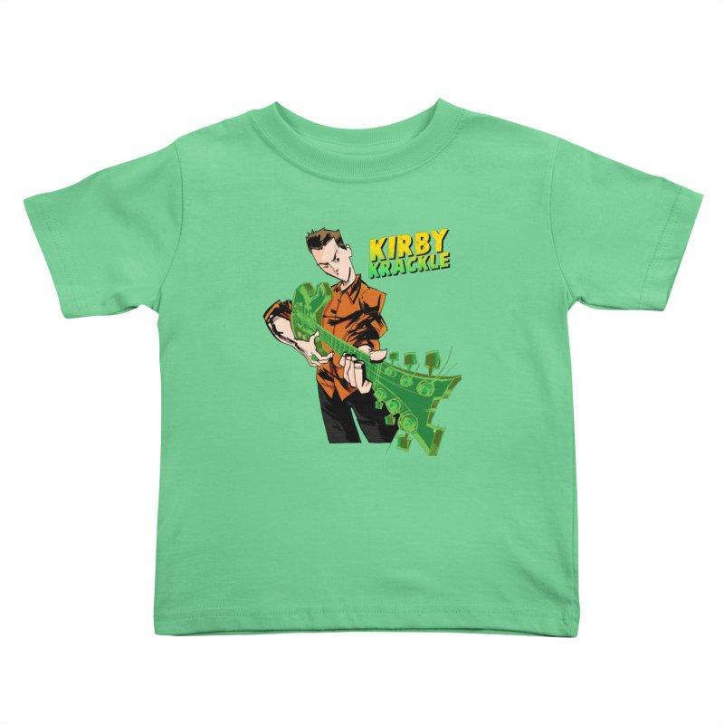 Kirby Krackle - Ring Capacity Logo Kids Toddler T-Shirt by Kirby Krackle's Artist Shop