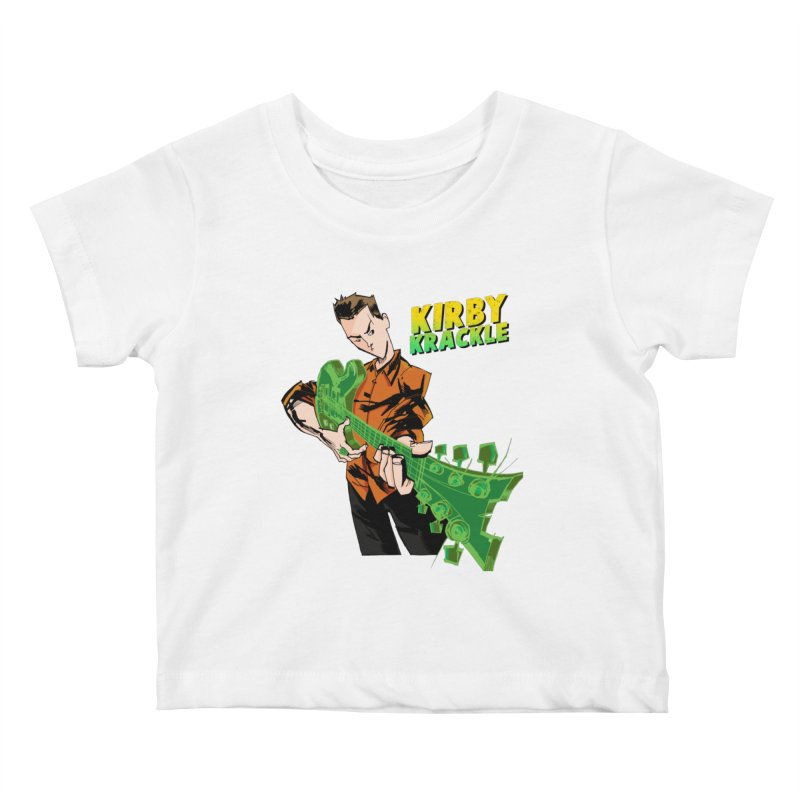 Kirby Krackle - Ring Capacity Logo Kids Baby T-Shirt by Kirby Krackle's Artist Shop
