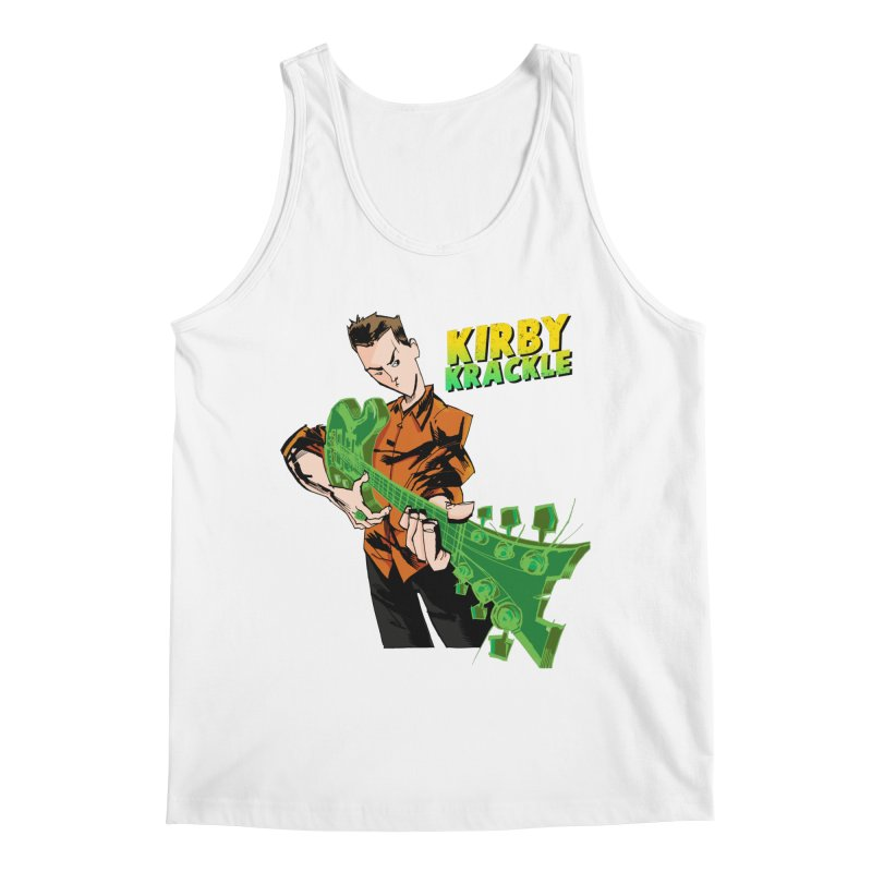 Kirby Krackle - Ring Capacity Logo Men's Tank by Kirby Krackle's Artist Shop