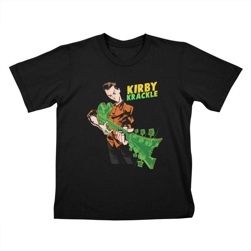 Kirby Krackle - Ring Capacity Logo Kids T-Shirt by Kirby Krackle's Artist Shop