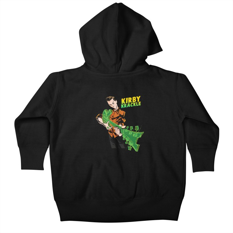 Kirby Krackle - Ring Capacity Logo Kids Baby Zip-Up Hoody by Kirby Krackle's Artist Shop