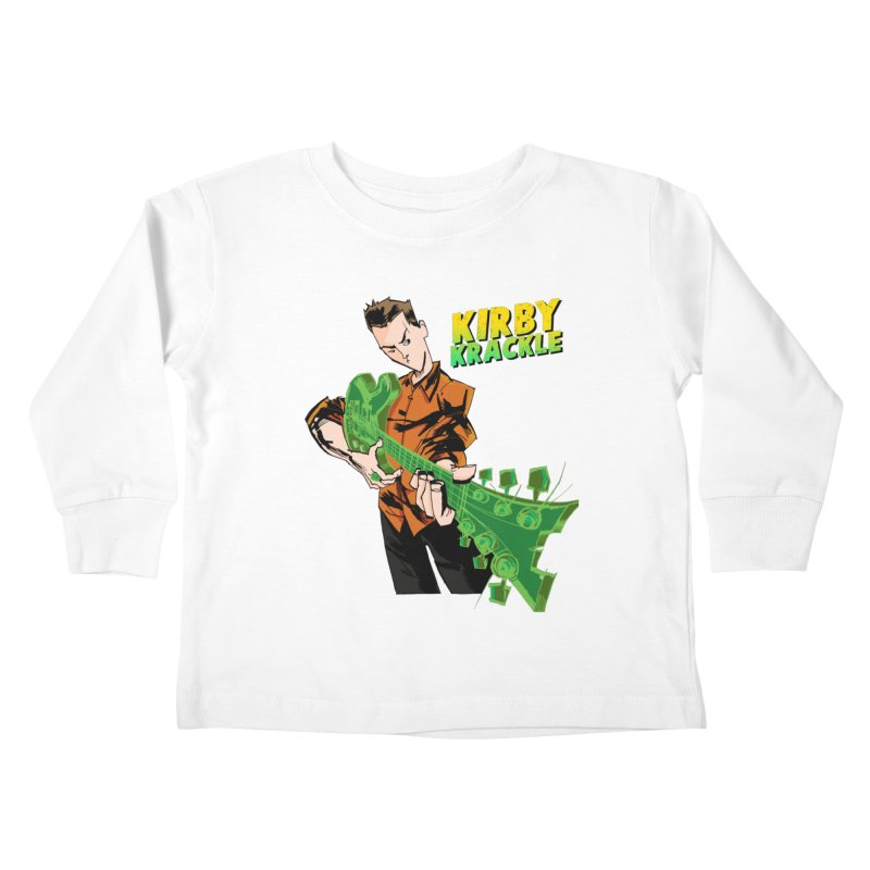 Kirby Krackle - Ring Capacity Logo Kids Toddler Longsleeve T-Shirt by Kirby Krackle's Artist Shop