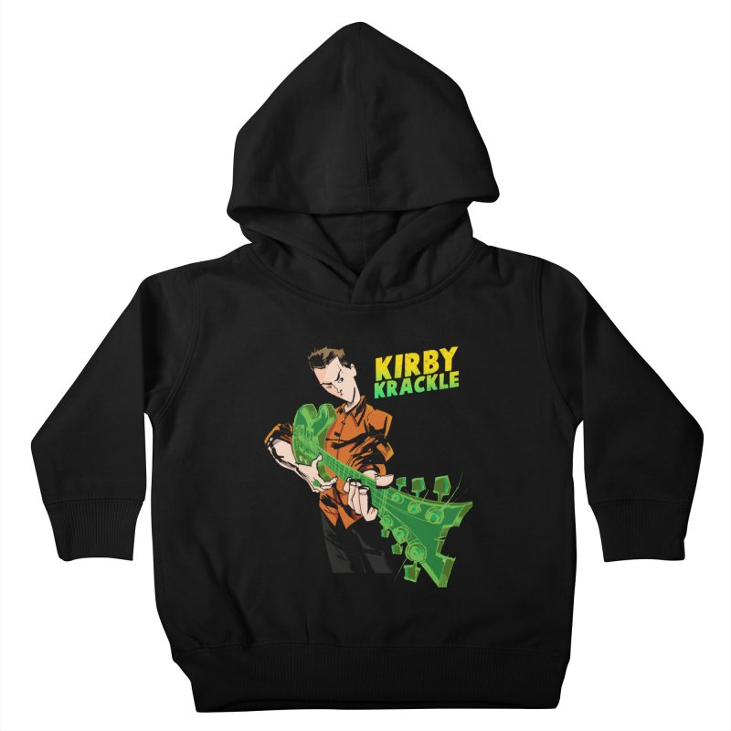 Kirby Krackle - Ring Capacity Logo Kids Toddler Pullover Hoody by Kirby Krackle's Artist Shop