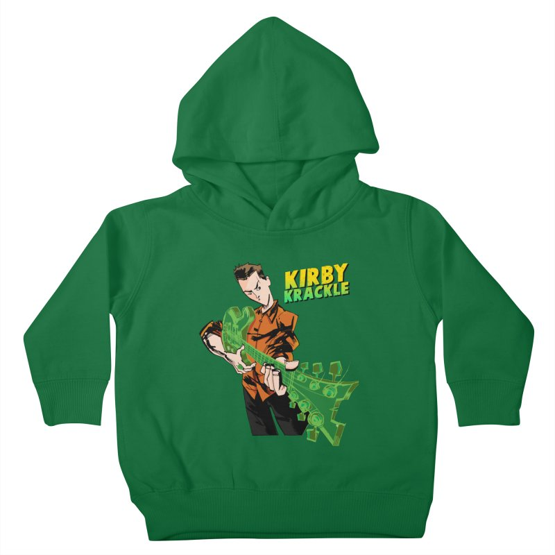 Kirby Krackle - Ring Capacity Logo Kids Toddler Pullover Hoody by Kirby Krackle's Artist Shop