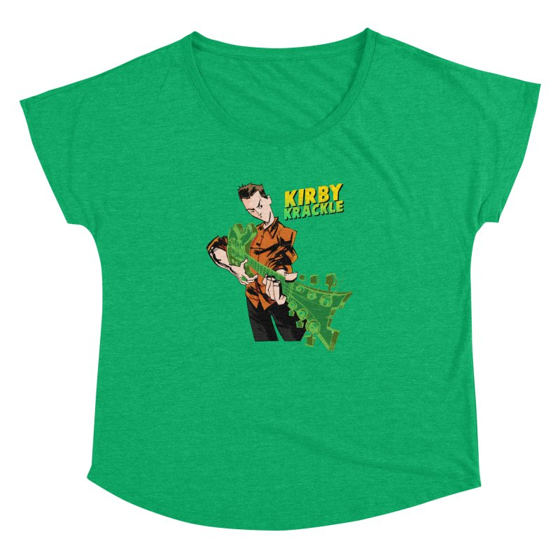 Kirby Krackle - Ring Capacity Logo Women's Dolman Scoop Neck by Kirby Krackle's Artist Shop