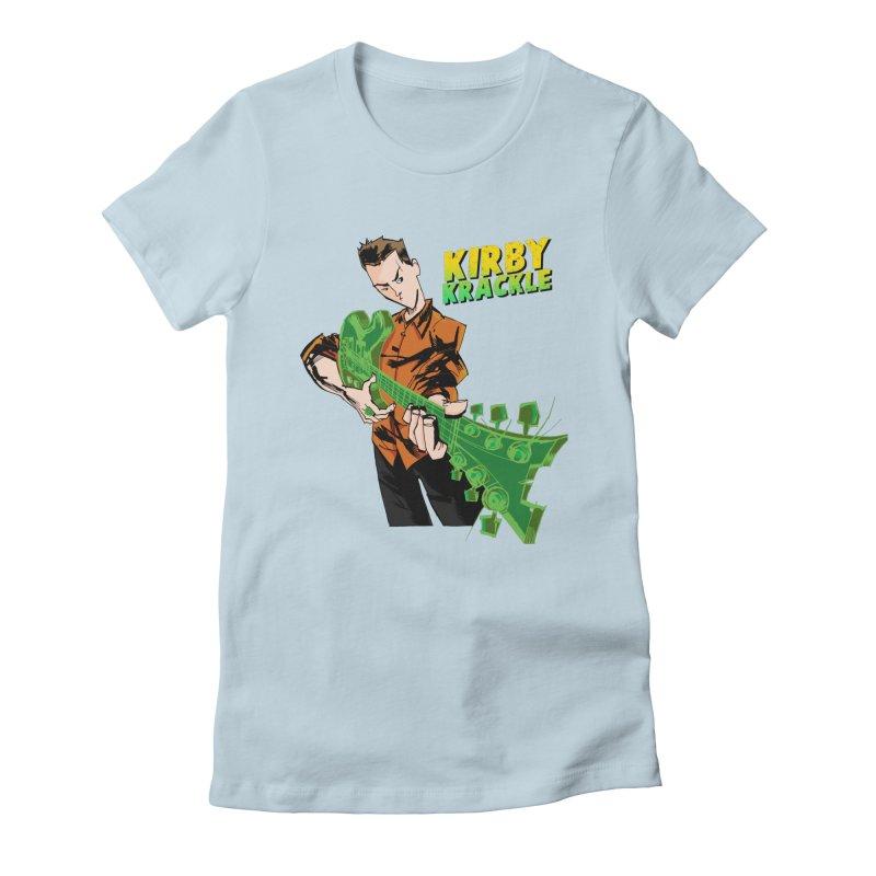 Kirby Krackle - Ring Capacity Logo Women's T-Shirt by Kirby Krackle's Artist Shop
