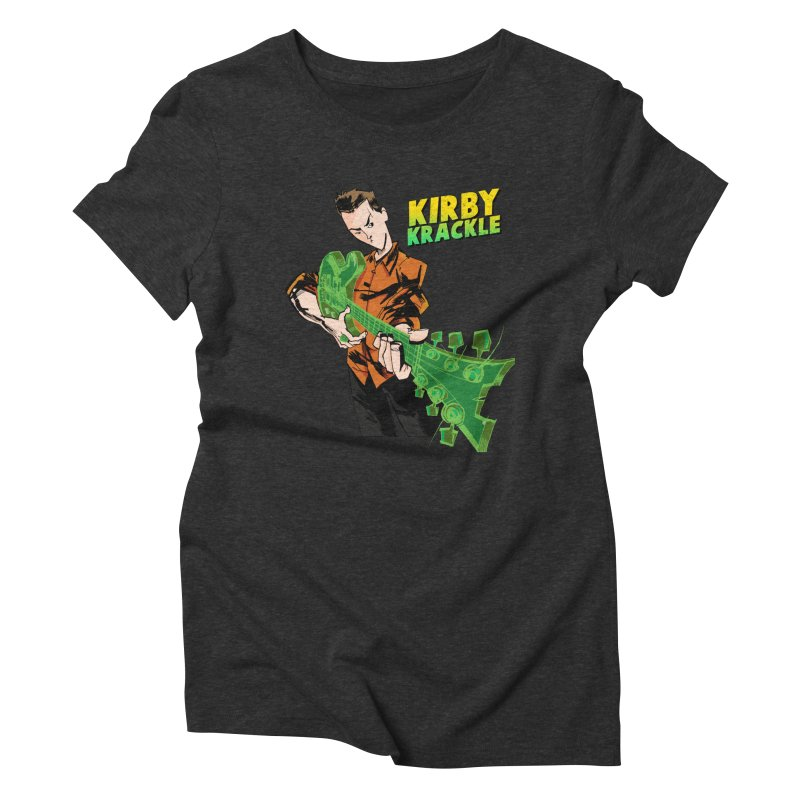 Kirby Krackle - Ring Capacity Logo Women's Triblend T-Shirt by Kirby Krackle's Artist Shop